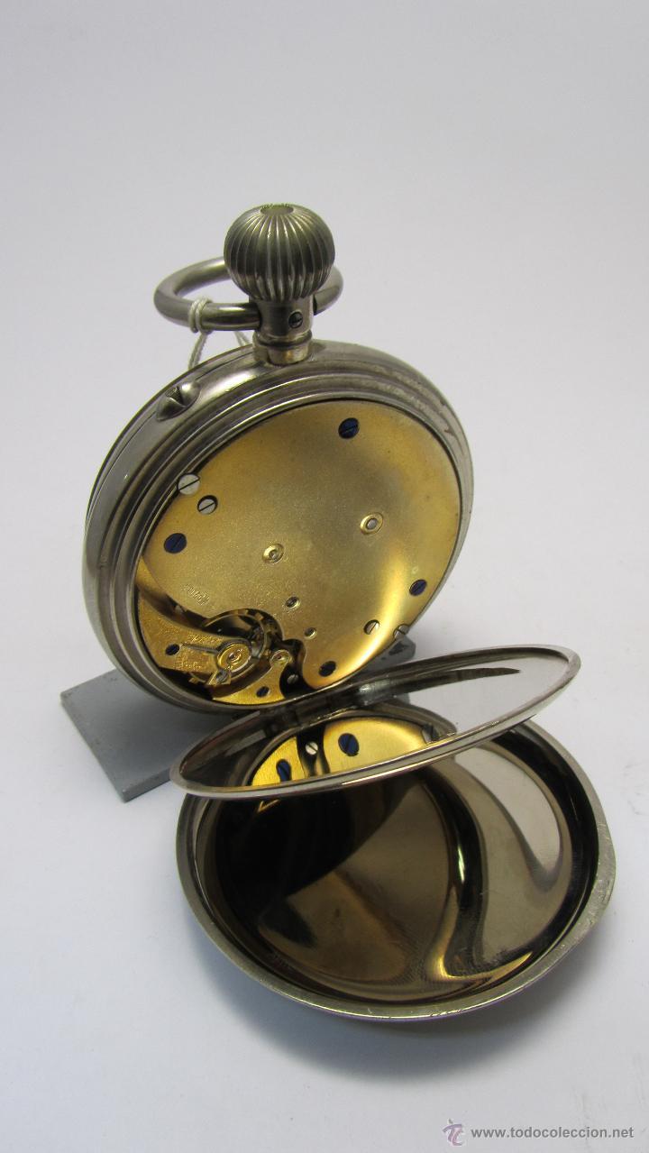 Relojes de bolsillo: Magnifico reloj tipo Goliat de la casa J.C Vickery. Año 1900 - Foto 4 - 50046809