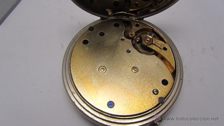 Relojes de bolsillo: Magnifico reloj tipo Goliat de la casa J.C Vickery. Año 1900 - Foto 5 - 50046809