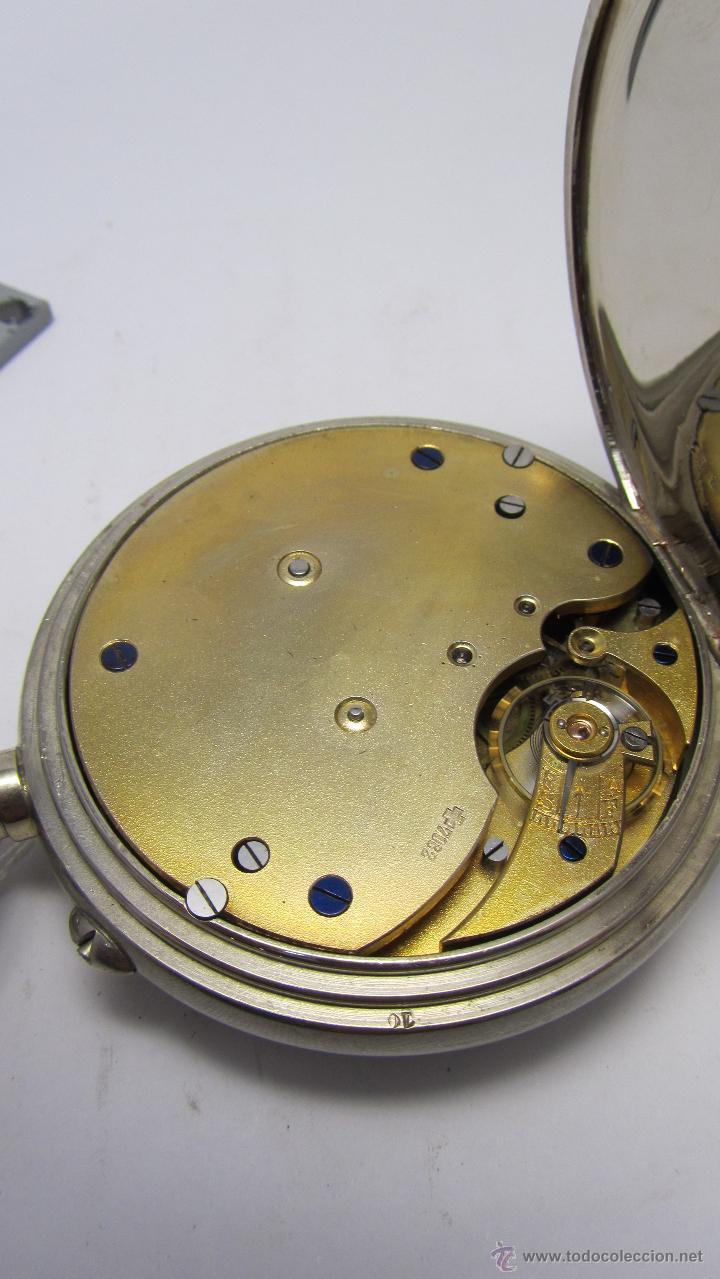 Relojes de bolsillo: Magnifico reloj tipo Goliat de la casa J.C Vickery. Año 1900 - Foto 6 - 50046809