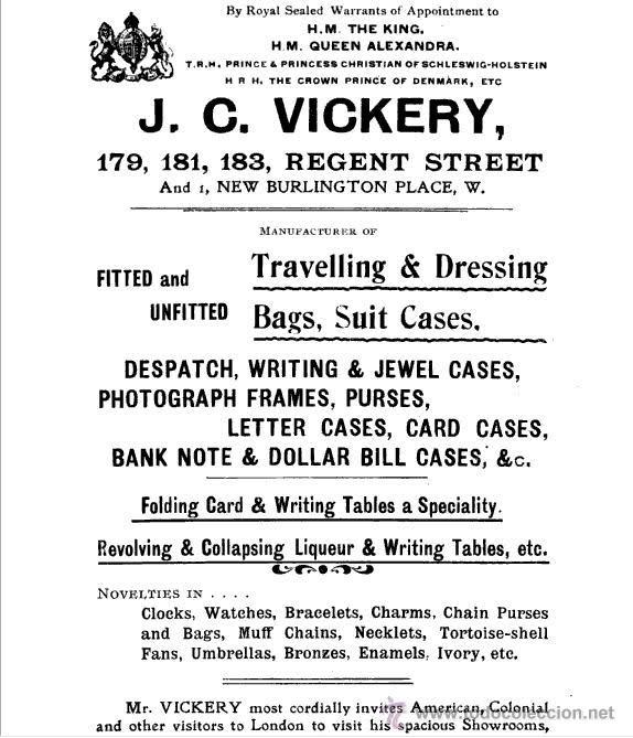 Relojes de bolsillo: Magnifico reloj tipo Goliat de la casa J.C Vickery. Año 1900 - Foto 10 - 50046809
