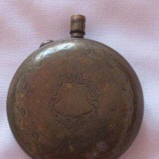 Relojes de bolsillo: CAJA ANTIGUA PARA RELOJ DE BOLSILLO DORADA SABONETA. Lote 50661822
