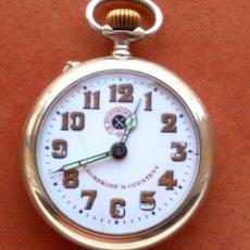Relojes de bolsillo: RELOJ DE BOLSILLO ROSSKOPF-ROSKOPF ORIGINAL,SIGLOXIX,EL ROLEX DE EPOCA,DE COLECCION NO DE USO DIARIO. Lote 51045687