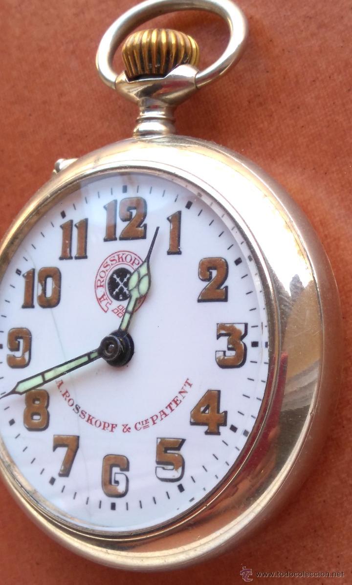 Relojes de bolsillo: RELOJ DE BOLSILLO ROSSKOPF-ROSKOPF ORIGINAL,SIGLOXIX,EL ROLEX DE EPOCA,DE COLECCION NO DE USO DIARIO - Foto 3 - 51045687