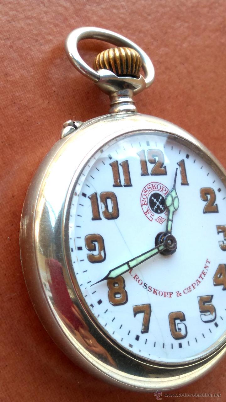 Relojes de bolsillo: RELOJ DE BOLSILLO ROSSKOPF-ROSKOPF ORIGINAL,SIGLOXIX,EL ROLEX DE EPOCA,DE COLECCION NO DE USO DIARIO - Foto 4 - 51045687