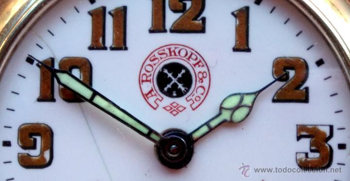 Relojes de bolsillo: RELOJ DE BOLSILLO ROSSKOPF-ROSKOPF ORIGINAL,SIGLOXIX,EL ROLEX DE EPOCA,DE COLECCION NO DE USO DIARIO - Foto 5 - 51045687