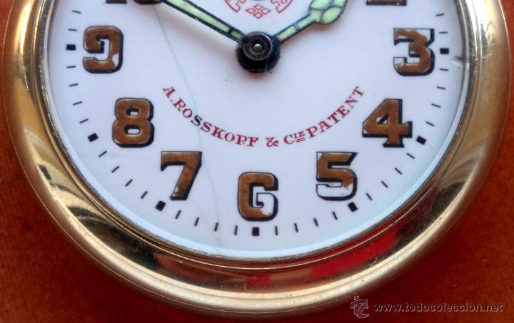 Relojes de bolsillo: RELOJ DE BOLSILLO ROSSKOPF-ROSKOPF ORIGINAL,SIGLOXIX,EL ROLEX DE EPOCA,DE COLECCION NO DE USO DIARIO - Foto 6 - 51045687