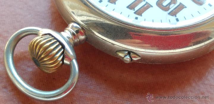 Relojes de bolsillo: RELOJ DE BOLSILLO ROSSKOPF-ROSKOPF ORIGINAL,SIGLOXIX,EL ROLEX DE EPOCA,DE COLECCION NO DE USO DIARIO - Foto 7 - 51045687
