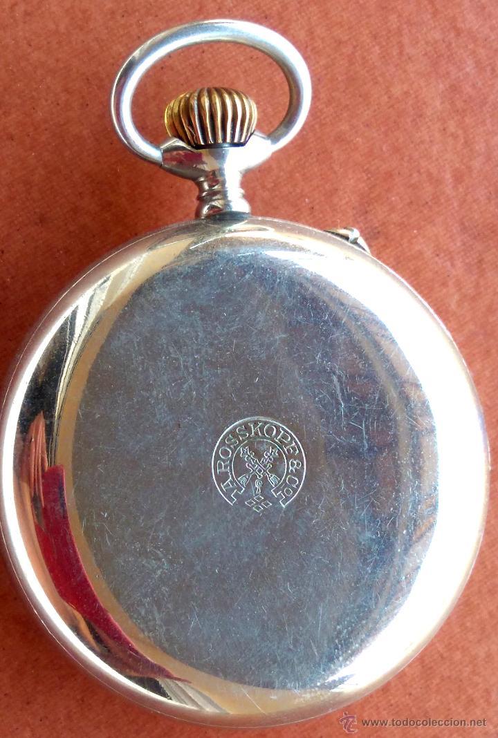 Relojes de bolsillo: RELOJ DE BOLSILLO ROSSKOPF-ROSKOPF ORIGINAL,SIGLOXIX,EL ROLEX DE EPOCA,DE COLECCION NO DE USO DIARIO - Foto 8 - 51045687