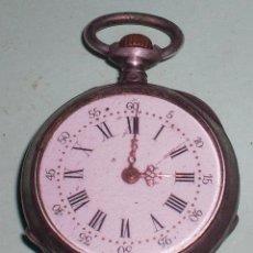 Relojes de bolsillo: ANTIGUO RELOJ DE PLATA PEQUEÑO. Lote 51207356