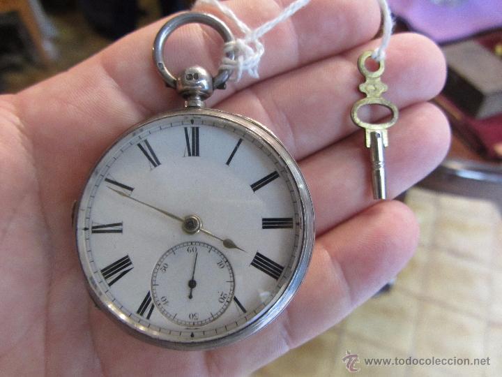 Relojes de bolsillo: Reloj de Bolsillo con Llave - Plata - Foto 2 - 51444906
