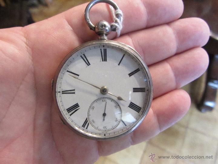 Relojes de bolsillo: Reloj de Bolsillo con Llave - Plata - Foto 3 - 51444906