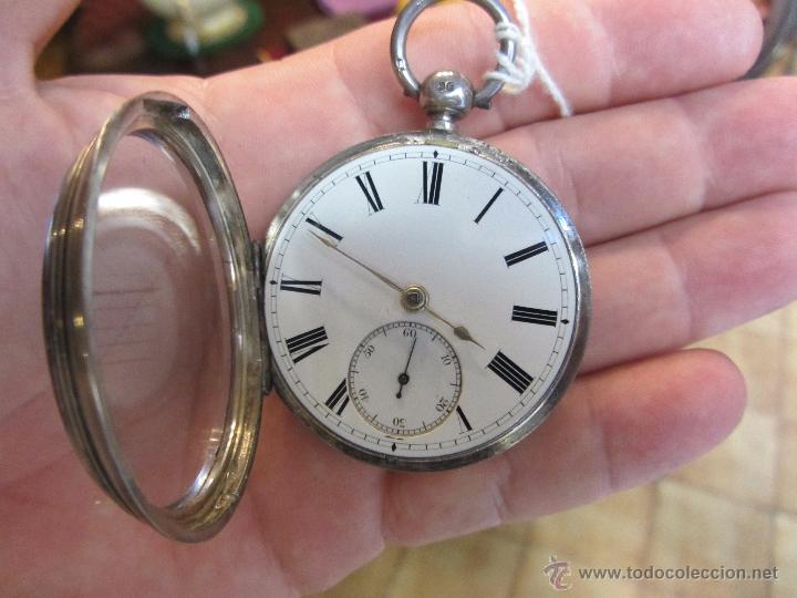 Relojes de bolsillo: Reloj de Bolsillo con Llave - Plata - Foto 4 - 51444906