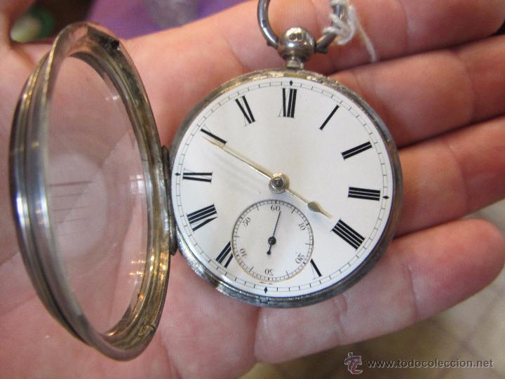 Relojes de bolsillo: Reloj de Bolsillo con Llave - Plata - Foto 5 - 51444906