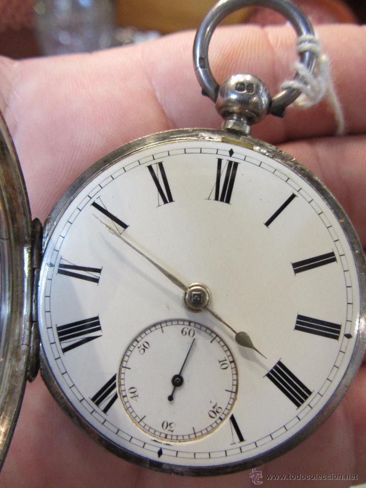 Relojes de bolsillo: Reloj de Bolsillo con Llave - Plata - Foto 6 - 51444906