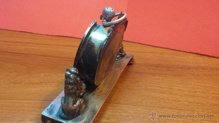 Relojes de bolsillo: Gran reloj con caja de plata maciza WALTHAM con 126gr de peso, de 1906, con relojera de plata maciza - Foto 8 - 49075738