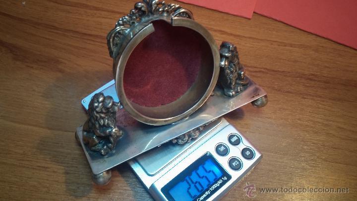 Relojes de bolsillo: Gran reloj con caja de plata maciza WALTHAM con 126gr de peso, de 1906, con relojera de plata maciza - Foto 21 - 49075738