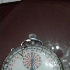 Relojes de bolsillo: CRONÓGRAFO LOWE &CAMPELL ATHLETIC GOODS CO. EN LA MAQUINARIA LEONIDAS WATCH. FUNCIONANDO. Lote 52138548