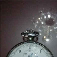 Relojes de bolsillo: CRONÓGRAFO GALLET DECIMAL DE 4.5 CM DE DIÁMETRO Y FUNCIONANDO. Lote 52139177