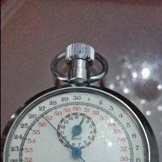 Relojes de bolsillo: CRONÓGRAFO SMITHS SW 43 DE 4.5 CM DE DIÁMETRO Y FUNCIONANDO. Lote 52139309