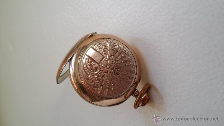 Relojes de bolsillo: Reloj de bolsillo DAMA / Plata / circa 1900 - Foto 2 - 52593408