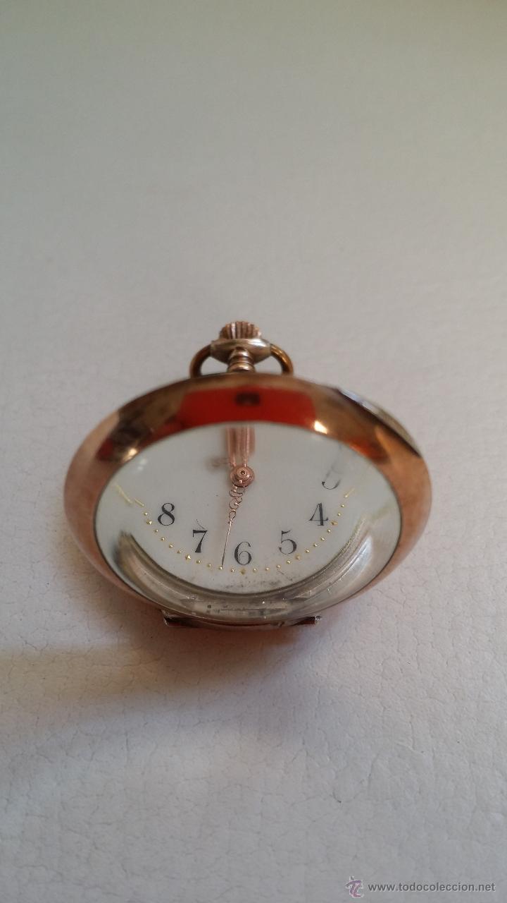 Relojes de bolsillo: Reloj de bolsillo DAMA / Plata / circa 1900 - Foto 4 - 52593408