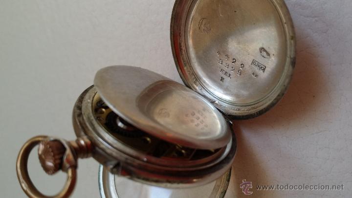 Relojes de bolsillo: Reloj de bolsillo DAMA / Plata / circa 1900 - Foto 7 - 52593408