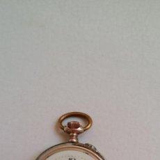 Relojes de bolsillo: RELOJ DE BOLSILLO DAMA / PLATA / CIRCA 1900. Lote 52593408
