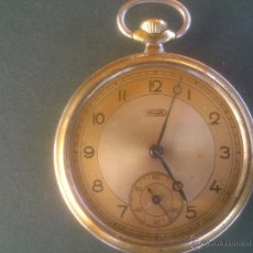 Relojes de bolsillo: HALLER.RELOJ BOLSILLO.DIÁMETRO 48 MM.. Lote 52704661