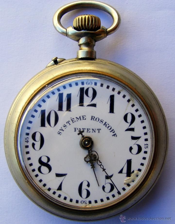 RELOJ ROSKOPF ANTIGUO (Relojes - Bolsillo Carga Manual)