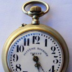 Relojes de bolsillo: RELOJ ROSKOPF ANTIGUO. Lote 86539474