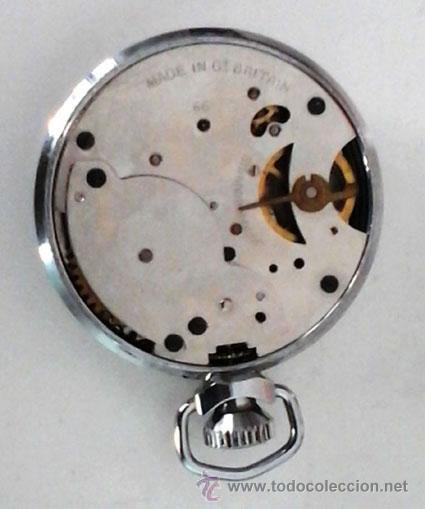 Relojes de bolsillo: RELOJ DE BOLSILLO INGLÉS MARCA INGERSOLL. FUNCIONANDO - Foto 2 - 52815237