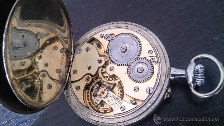 Relojes de bolsillo: Reloj de Bolsillo suizo 24Horas H&Co. c1920 - Foto 6 - 52956882