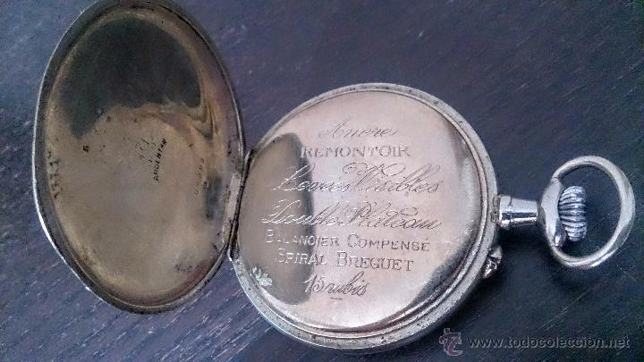 Relojes de bolsillo: Reloj de Bolsillo suizo 24Horas H&Co. c1920 - Foto 7 - 52956882
