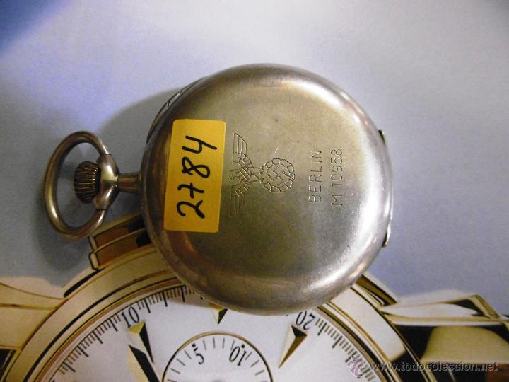Relojes de bolsillo: OPORTUNIDAD DE TENER UNA PIEZA HISTORICA VACHERON CONSTANTIN RELOJ BOLSILLO PLATA NAZI - Foto 9 - 53099423