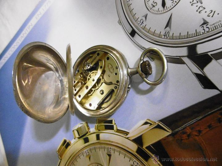 Relojes de bolsillo: OPORTUNIDAD DE TENER UNA PIEZA HISTORICA VACHERON CONSTANTIN RELOJ BOLSILLO PLATA NAZI - Foto 11 - 53099423