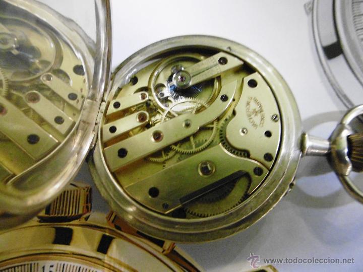 Relojes de bolsillo: OPORTUNIDAD DE TENER UNA PIEZA HISTORICA VACHERON CONSTANTIN RELOJ BOLSILLO PLATA NAZI - Foto 12 - 53099423