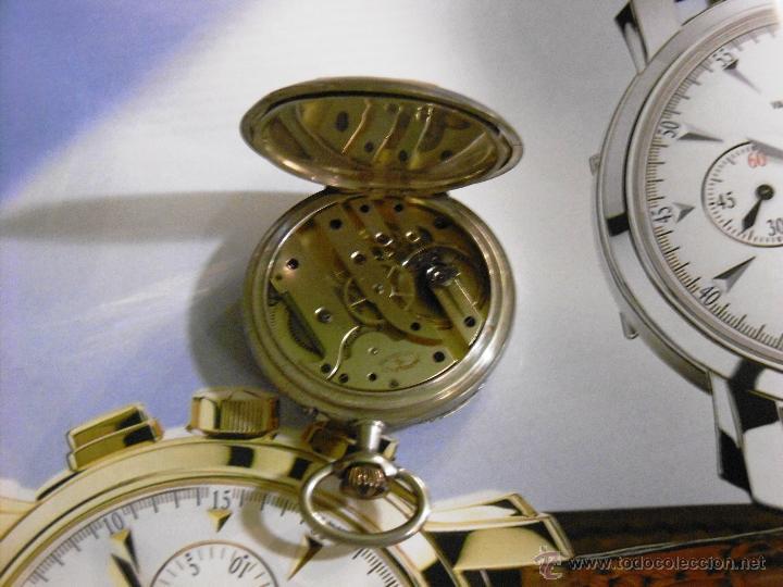 Relojes de bolsillo: OPORTUNIDAD DE TENER UNA PIEZA HISTORICA VACHERON CONSTANTIN RELOJ BOLSILLO PLATA NAZI - Foto 13 - 53099423