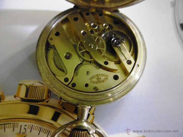 Relojes de bolsillo: OPORTUNIDAD DE TENER UNA PIEZA HISTORICA VACHERON CONSTANTIN RELOJ BOLSILLO PLATA NAZI - Foto 14 - 53099423