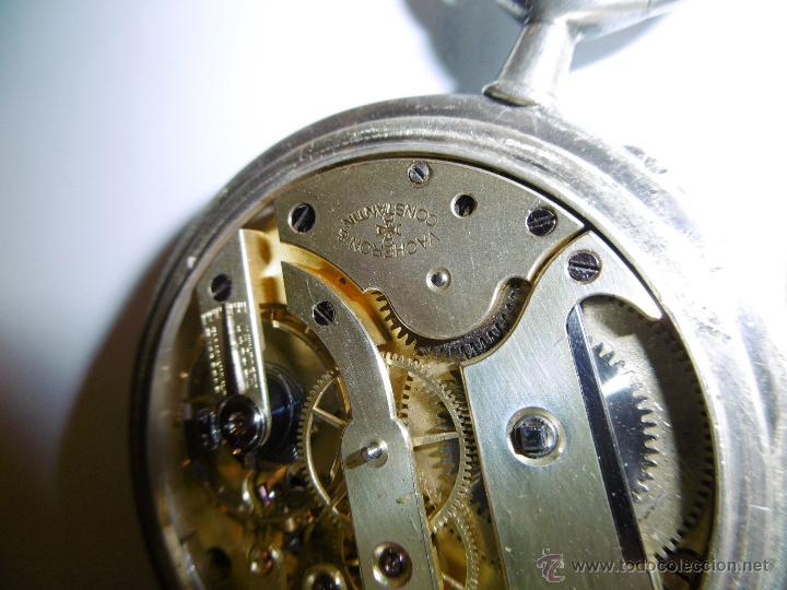 Relojes de bolsillo: OPORTUNIDAD DE TENER UNA PIEZA HISTORICA VACHERON CONSTANTIN RELOJ BOLSILLO PLATA NAZI - Foto 16 - 53099423