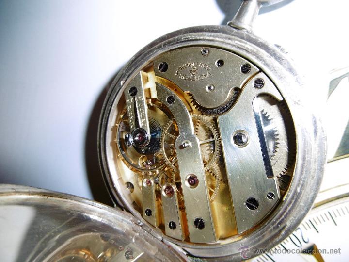 Relojes de bolsillo: OPORTUNIDAD DE TENER UNA PIEZA HISTORICA VACHERON CONSTANTIN RELOJ BOLSILLO PLATA NAZI - Foto 17 - 53099423