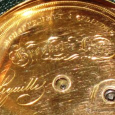 Relojes de bolsillo: OPORTUNIDAD DE TENER UNA PIEZA HISTORICA BREGUET RELOJ BOLSILLO ORO. Lote 53100108