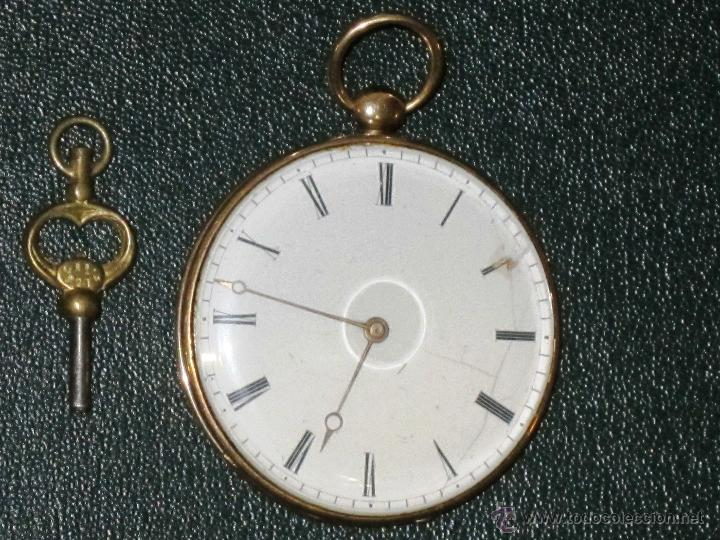 Relojes de bolsillo: OPORTUNIDAD DE TENER UNA PIEZA HISTORICA BREGUET RELOJ BOLSILLO ORO - Foto 2 - 53100108