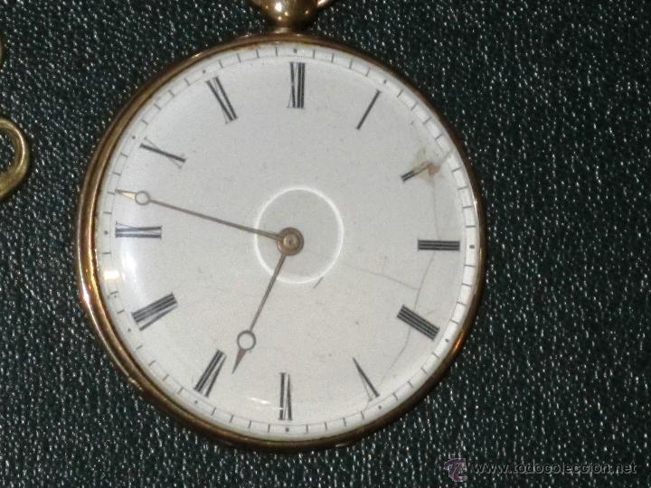 Relojes de bolsillo: OPORTUNIDAD DE TENER UNA PIEZA HISTORICA BREGUET RELOJ BOLSILLO ORO - Foto 3 - 53100108