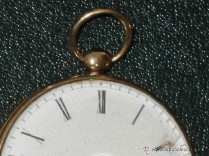 Relojes de bolsillo: OPORTUNIDAD DE TENER UNA PIEZA HISTORICA BREGUET RELOJ BOLSILLO ORO - Foto 4 - 53100108