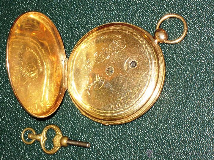 Relojes de bolsillo: OPORTUNIDAD DE TENER UNA PIEZA HISTORICA BREGUET RELOJ BOLSILLO ORO - Foto 8 - 53100108