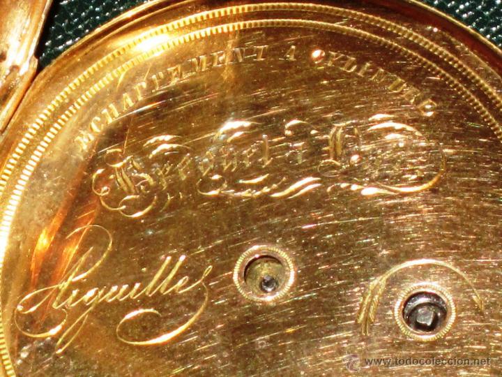 Relojes de bolsillo: OPORTUNIDAD DE TENER UNA PIEZA HISTORICA BREGUET RELOJ BOLSILLO ORO - Foto 10 - 53100108
