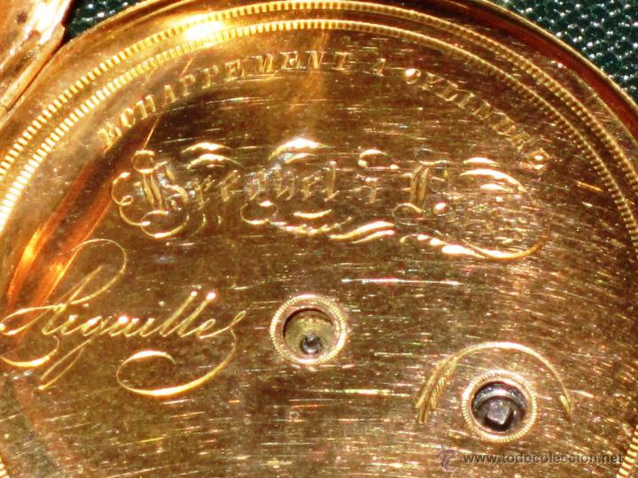 Relojes de bolsillo: OPORTUNIDAD DE TENER UNA PIEZA HISTORICA BREGUET RELOJ BOLSILLO ORO - Foto 11 - 53100108