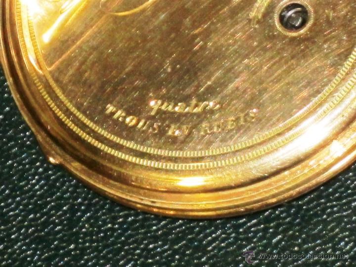 Relojes de bolsillo: OPORTUNIDAD DE TENER UNA PIEZA HISTORICA BREGUET RELOJ BOLSILLO ORO - Foto 13 - 53100108