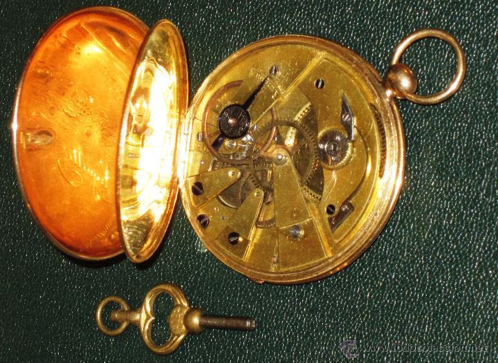 Relojes de bolsillo: OPORTUNIDAD DE TENER UNA PIEZA HISTORICA BREGUET RELOJ BOLSILLO ORO - Foto 14 - 53100108