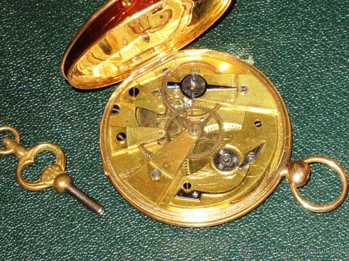 Relojes de bolsillo: OPORTUNIDAD DE TENER UNA PIEZA HISTORICA BREGUET RELOJ BOLSILLO ORO - Foto 15 - 53100108
